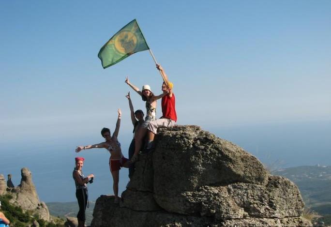 Походы по Крыму - фотографии туристов