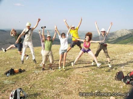 Отдых в горах Крыма - фото счастливых туристов